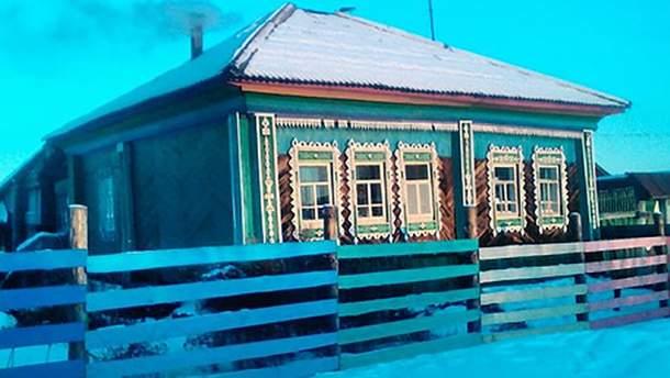 Дом Ельцина до пожара