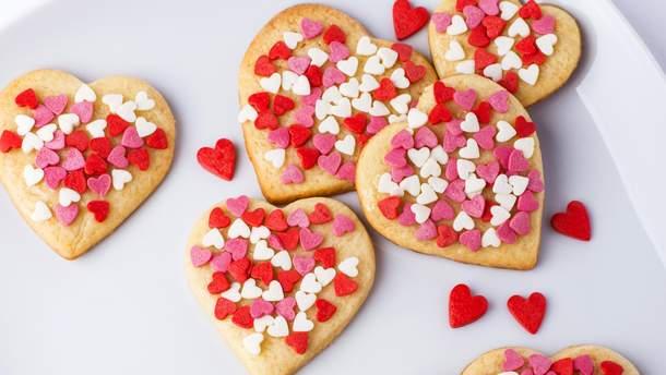 Печенье-сердечки ко Дню Святого Валентина