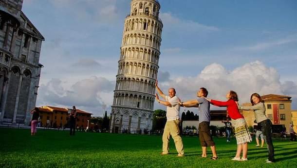 Типичные фото туристов