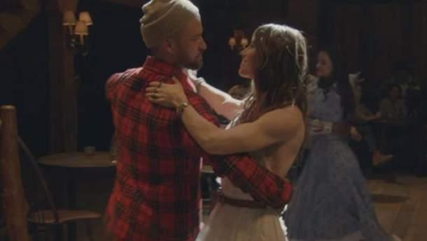 Джастин Тимберлейк снялся с Джессикой Бил в новом клипе