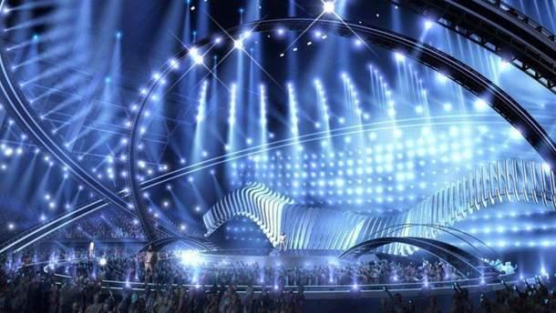 Сцена Евровидения 2018