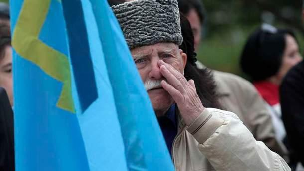 Крымские татары стали жертвами российской аннексии
