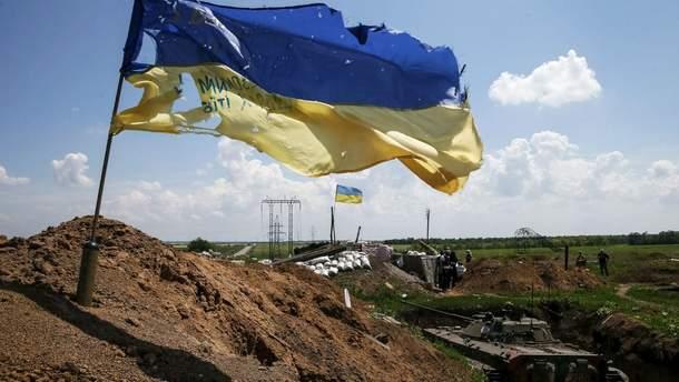 Украинские военные контролируют Катериновку в Луганской области