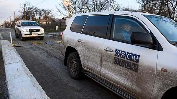 Миссия СММ ОБСЕ на Донбассе