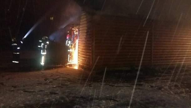 Во Львове горела церковь Московского патриархата