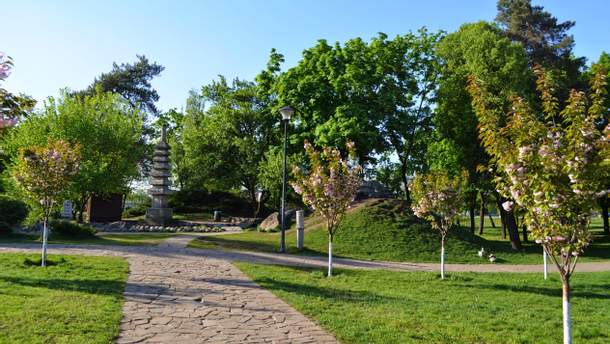 """Київський парк """"Кіото"""" можуть включити до природно-заповідного фонду"""