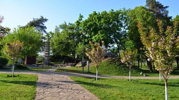 """Киевский парк """"Киото"""" могут включить в природно-заповедный фонд"""