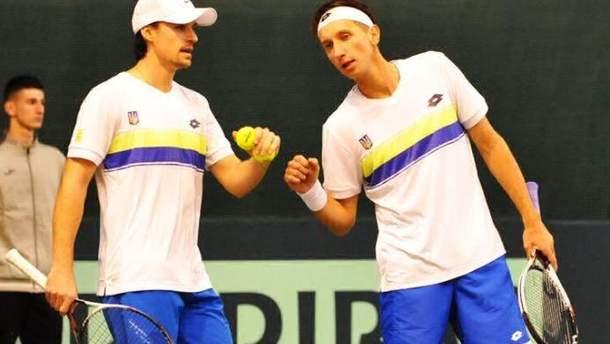 Стаховский и Молчанов победили шведов в парном матче Кубка Дэвиса