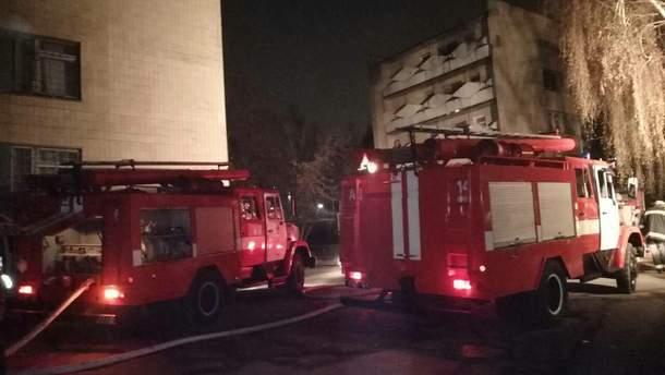 У Києві горіла психіатрична лікарня