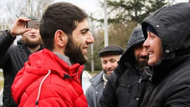 Крымскотатарский активист Крош вышел из-под ареста в Симферополе