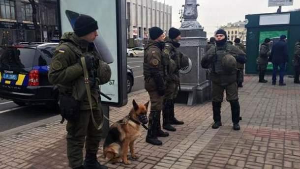 В центр Киева стянули 2 тысячи полицейских и нацгвардейцев