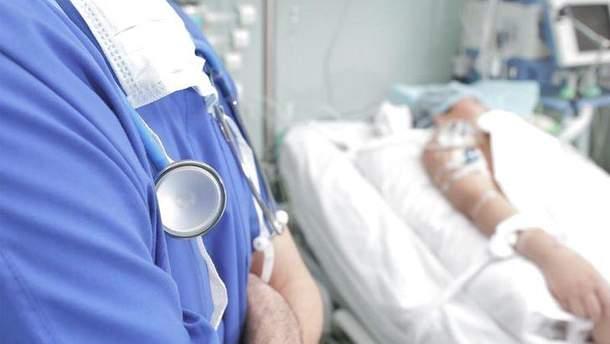 Один из раненых вчера бойцов АТО находится в тяжелом состоянии
