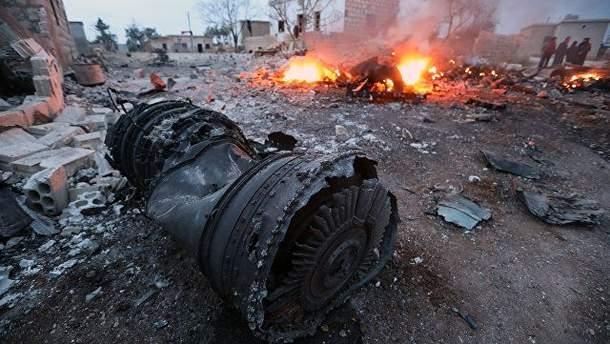 У Пентагоні відреагували на збитий у Сирії російський Су-25