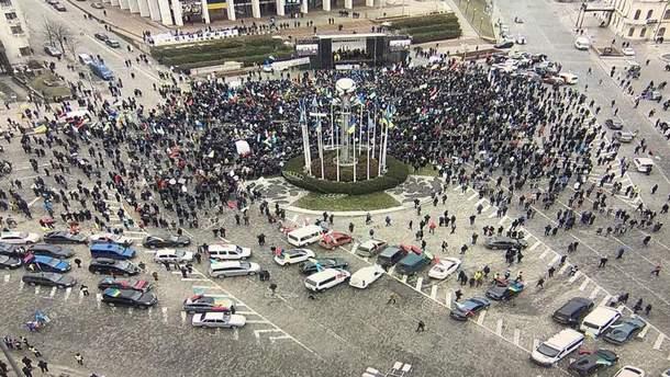 """Марш за будущее"" в центре Киева"