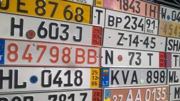 """Автомобили на """"еврономерах"""""""