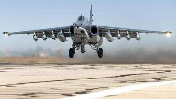 Российский самолет Су-25