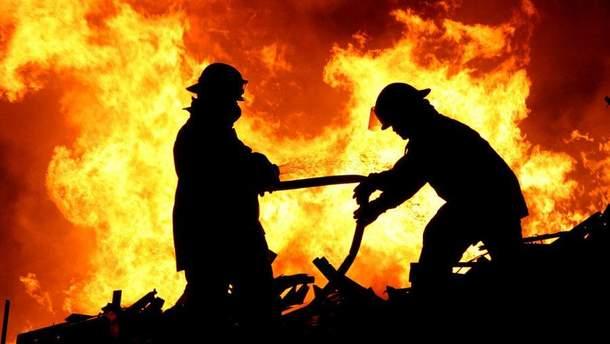 Пожар в районном военном комиссариате