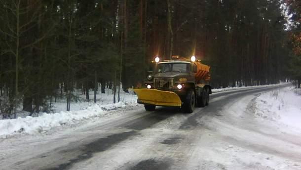 Ситуація на дорогах України