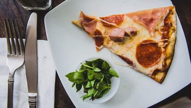 Пиццу можно есть на завтрак