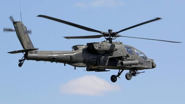 В Японии разбился вертолет