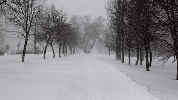 6 февраля в некоторых областях Украины будет идти снег и ударят морозы
