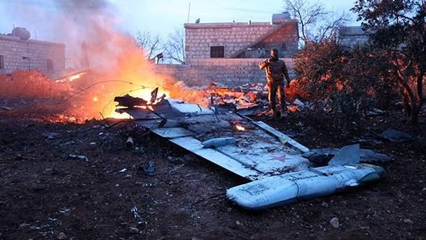 У мережі показали, що скоїв пілот Су-25 перед тим, як його підбили