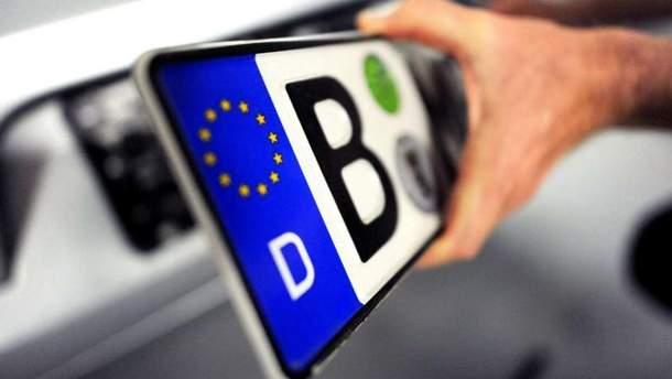 """На амністію для """"євроблях"""", яку пропонує влада, власники авто не погодилися"""
