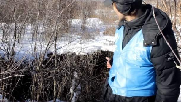 На Донбассе поселок начал проваливаться под землю