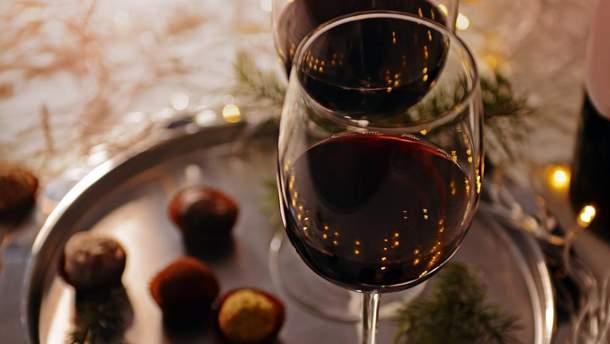 Вино та шоколад