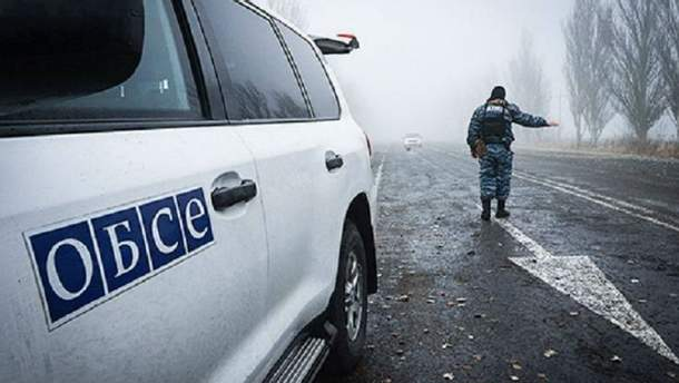 ОБСЕ зафиксировали танки боевиков