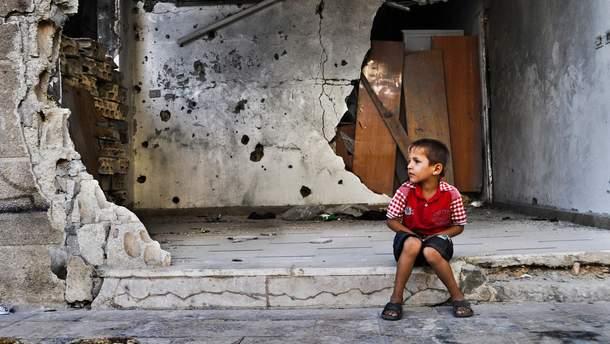 В Сирии детей травят хлорином