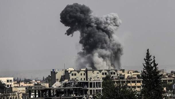 Росія авіаударами по повстанських містах  Сирії мститься за збитий Су-25