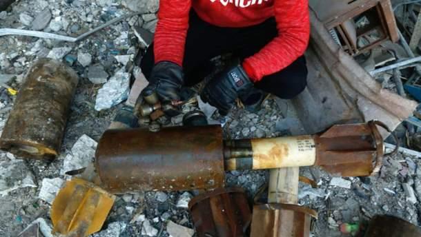 Ракета, в которой нашли изолирующий материал из ФРГ