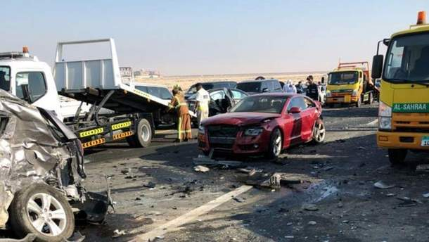 Масштабна аварія в ОАЕ
