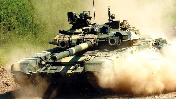 В Криму помітили колону військової техніки збройних сил РФ