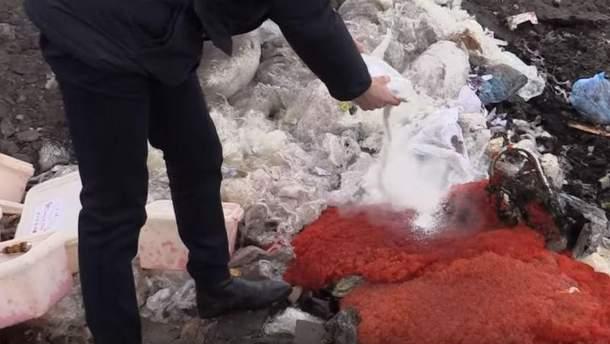 """В  """"ЛНР"""" знищили  85 кілограмів червоної ікри"""
