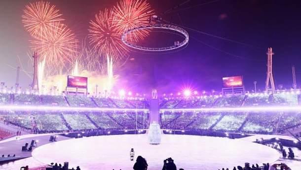 Церемонія відкриття Оліміпіади-2018: хронологія