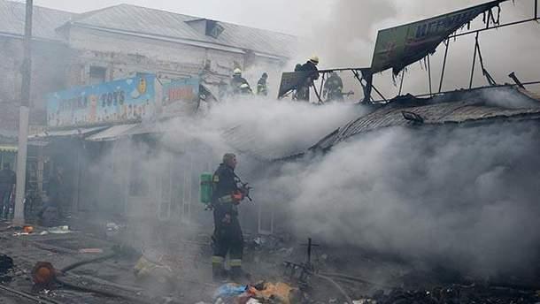 Пожежа у Дніпрі