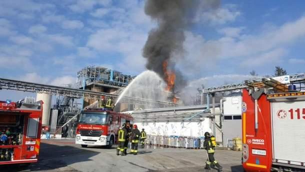 Взрыв на химзаводе прогремел в Италии