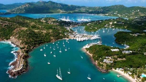 10 самых интересных мест Антигуа и Барбуда