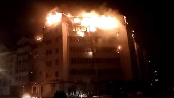 У Росії через майнінг криптовалют сталася пожежа