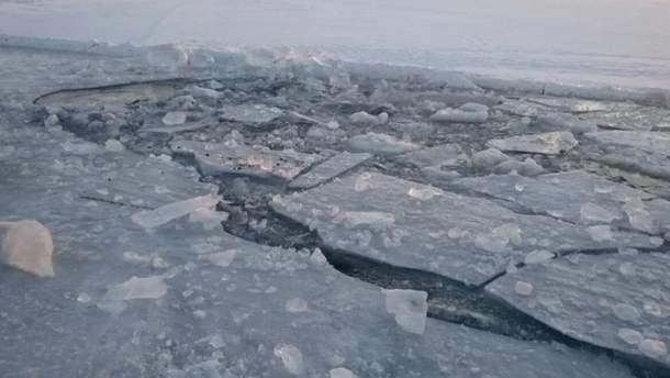 В Луцке нашли тело мальчика, который провалился под лед