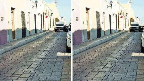 Оптична ілюзія з фотографіями