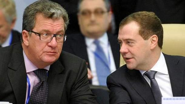 Дмитрий Медведев и Сергей Приходько