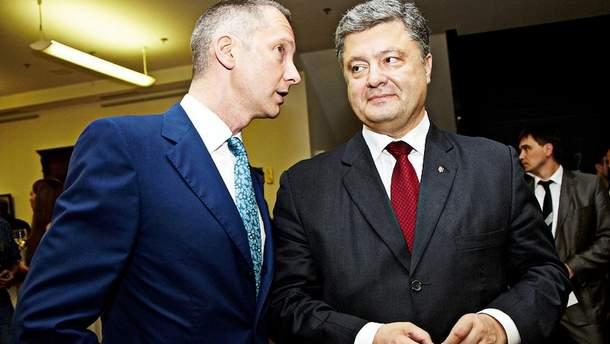 Борис Ложкін і Петро Порошенко