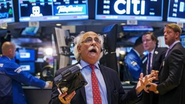 У США вдруге за тиждень обвалились біржі