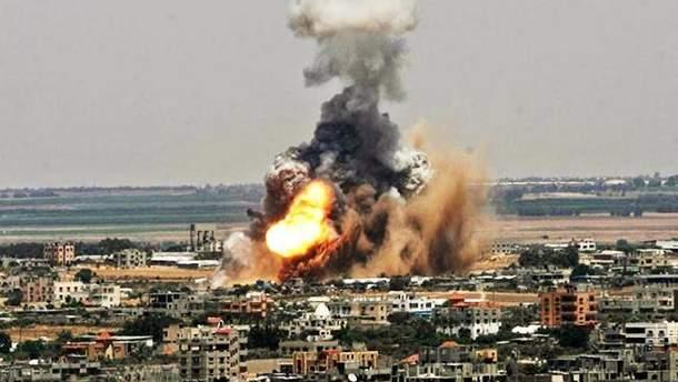Авіаудари в Сирії