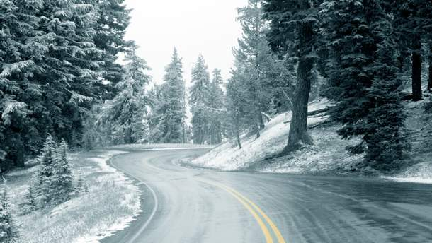 Движение по дорогам государственного значения на территории Ивано-Франковской области запрещено