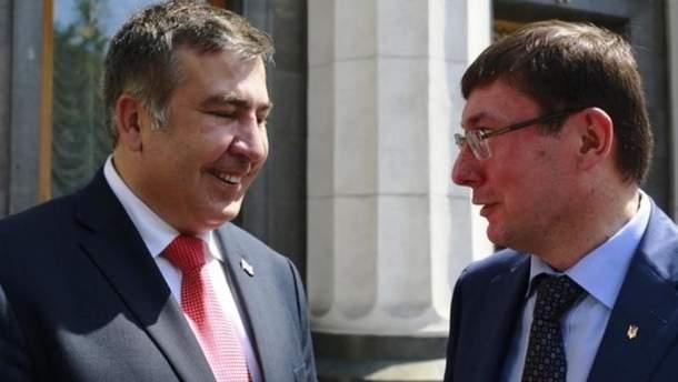 Луценко депортує Саакашвілі до будь-якої країни?