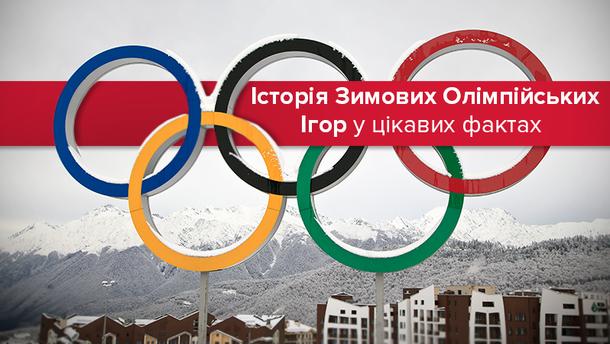 Усі Зимові Олімпіади у фактах та цифрах